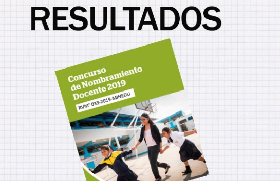 Resultados finales del examen de nombramiento 2019