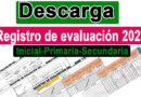 Registro de evaluación automatizado por competencias