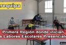 AREQUIPA, la primera Región donde inician las Labores Escolares Presenciales