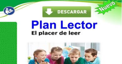Modelo de plan lector 2021