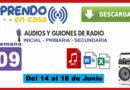 Programas radiales aprendo en casa semana 09
